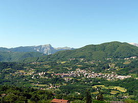 Panorama von Camporgiano