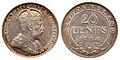 Canada Newfoundland Edward VII 20 Cents 1904H.jpg