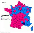 Candidat arrivé en tête au premier tour de l'élection présidentielle française de 2012.jpg
