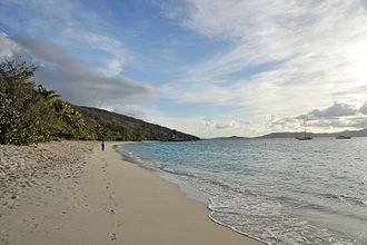 Virgin Islands National Park - Honeymoon Beach