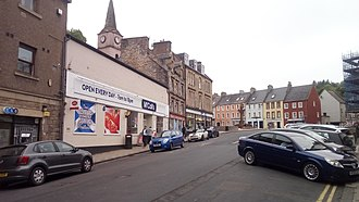 Jedburgh - The Canongate in 2018.