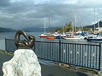 Caol Acain Harbour and Caisteal Maol - geograph.org.uk - 180723.jpg