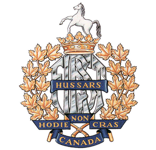1st Hussars Canadian military unit