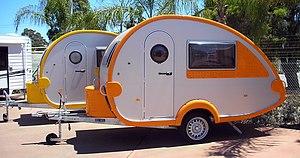 """Caravan (towed trailer) - """"Teardrop trailers"""""""