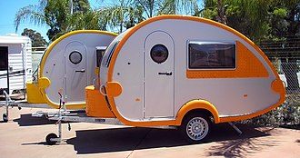 "Caravan (towed trailer) - ""Teardrop trailers"""