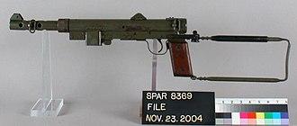 Carl Gustav m/45 - Carl Gustav m/45 on display