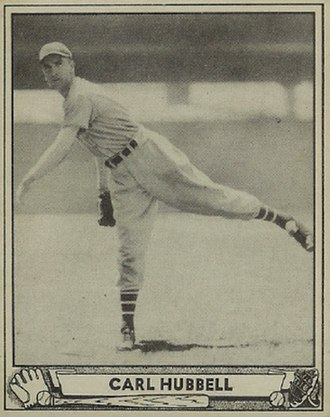 Carl Hubbell - Hubbell's 1940 Play Ball  baseball card