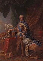 Louis XV en armure