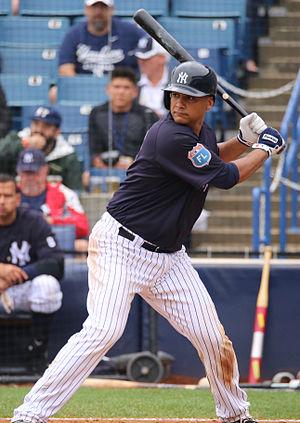 Carlos Corporán - Corporán with the New York Yankees