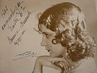 Carmen Miranda - Miranda about 1930