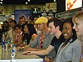 Cast of Glee Signing at Comic Con (12062413923).jpg