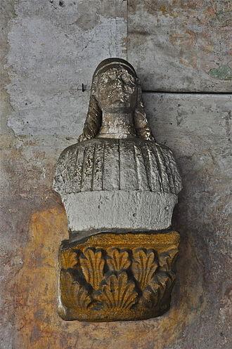 Tamagnino - Bust of a man (1497) found at Castello Visconteo in Locarno
