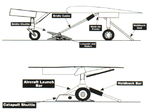 Catapult bridle and nose toe launch system drawing 1994.png