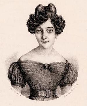 Caterina Canzi - Caterina Canzi in 1826