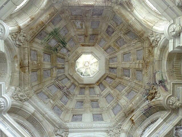 File cath drale de toul 2009 plafond renaissance - Plafond de la chapelle sixtine description ...