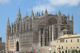 Cathedral palma mallorca spain 2007 08 15