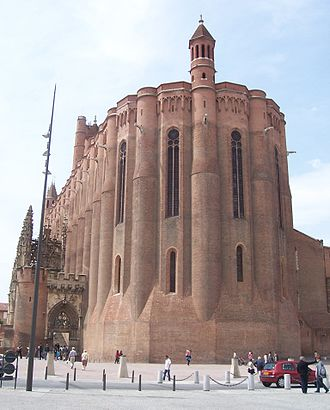 Albi Cathedral - Image: Cathedrale Ste Cecile Albi