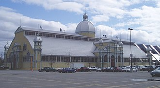 Lansdowne Park - The Aberdeen Pavilion exhibition hall, built 1898