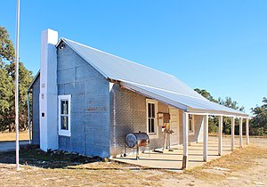 National Register of Historic Places listings in Gillespie County, Texas - Image: Cave Creek School 1