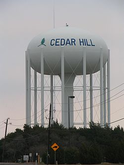 Cedar Hill water tower