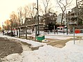 Cedar Grove station from Fellsway Street, January 2016.jpg