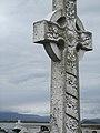 Celtic Cross, graveyard at Murrisk Abbey Ruins (6047429309).jpg