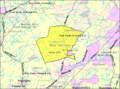 Census Bureau map of Montgomery Township, New Jersey.png