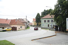 Center of Rokytnice nad Rokytnou, Třebíč District.jpg