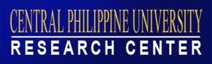 CPU Research Center - Image: Central Philippine University Research Center Banner