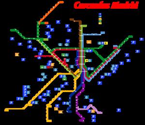 Mapa Cercanias Madrid 2017.Historia De Cercanias Madrid Wikipedia Republished Wiki 2
