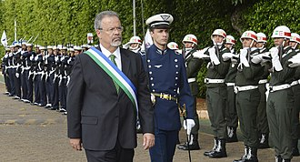 Brazilian Armed Forces - Raul Jungmann, current defense minister.