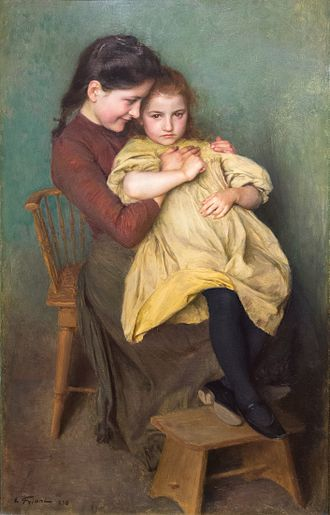 Émile Friant - Chagrin d'Enfant, 1898, Frick Art & Historical Center