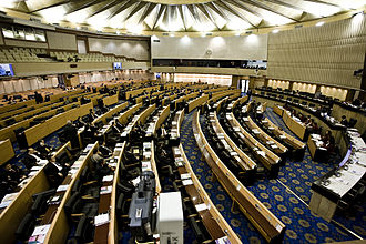Parliament House of Thailand - Debating chamber within the building