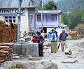 Chame village Nepal.jpg