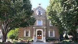 La mairie de Champagne-au-Mont-d'Or.