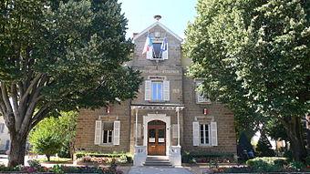 La mairie de Champagne-au-Mont-d'Or