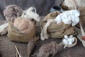 Animal fiber - Wool