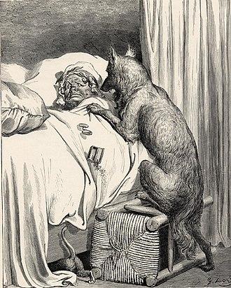 Big Bad Wolf - Image: Chaperon rouge 2
