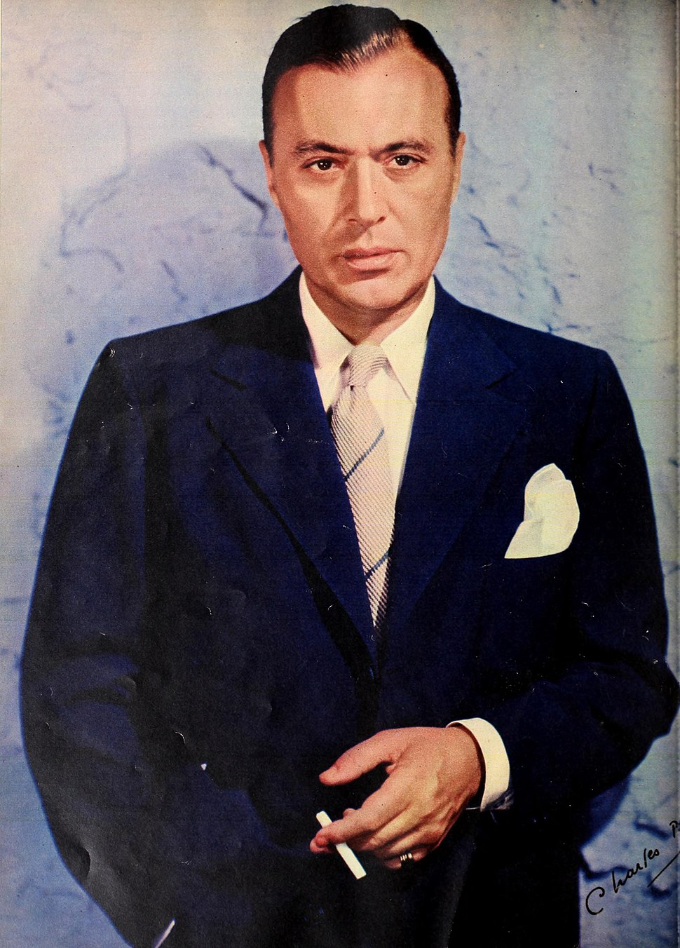 Charles Boyer - Photoplay, January 1942