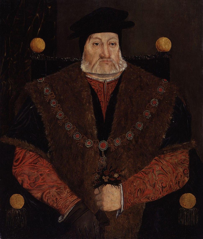 Charles Brandon, 1st Duke of Suffolk from NPG