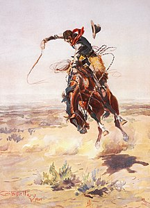 Charles Marion Russell - A bad hoss (1904).jpg