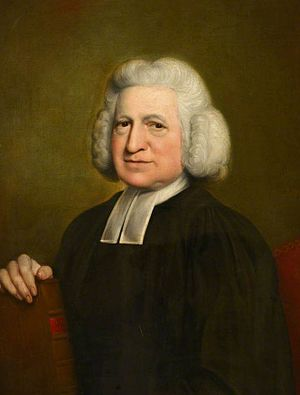 Charles Wesley - Portrait by John Russell