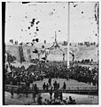 Charleston, South Carolina. Flag-raising ceremony at Fort Sumter. Awaiting the arrival of Gen. Anderson and invited guests to inaugurate the ceremony of raising the flag LOC ppmsc.03298.jpg