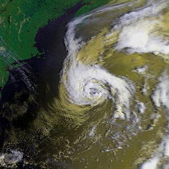 NOAA-6 - Image: Charley 23 aug 1980 1254Z N6