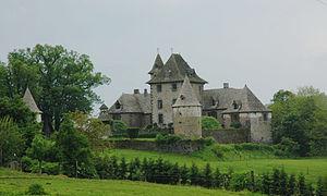 Château de Vixouze - Château de Vixouges from the south