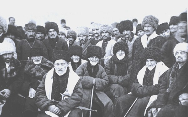 Chechen Delegates 1923