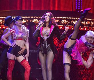 Dressed to Kill Tour (Cher) - Cher performing during the tour.
