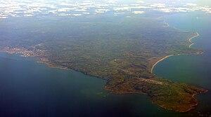 Cap de la Hague - Cape of la Hague with Cherbourg on the left