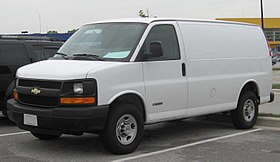 Chevy Express Van >> Chevrolet Express Wikipedia