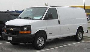 Chevrolet Express - Image: Chevrolet Express Van